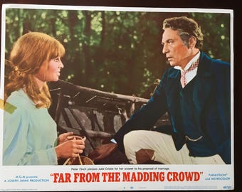 Lobby Card from Far from the Madding Crowd, Finch/Christie, proposal.