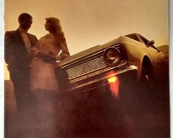 Vintage 1970 Ford Falcon Brochure, Car, Advertising, Auto, Dealer, Sales
