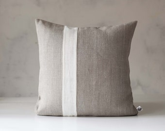home c french pair pillows product linen omero grain pillow sack of