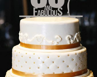 50th birthday cake Etsy