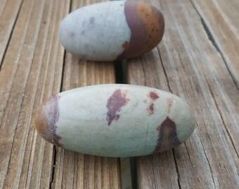 """Large Shiva Lingam Stones, 2 1/2""""; 2 pc"""