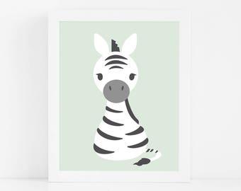 Safari Nursery Wall Art, Printable Wall Art, Animal Nursery Art Print, Baby Boy Nursery Decor, Nursery Print, Nursery Art, Baby Shower Gift