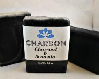 Charcoal & Bentonite Clay Silk Bar