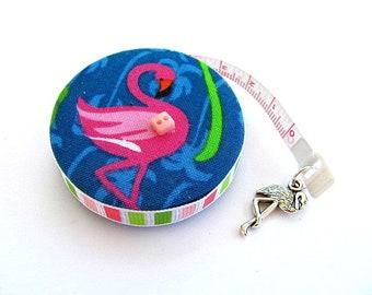 Measuring Tape Flamingo Retractable Pocket Tape Measure