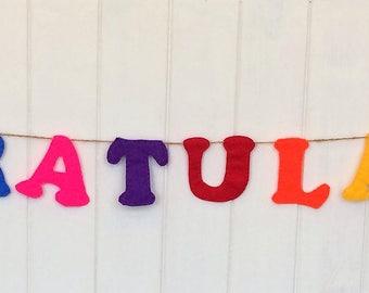 Congratulations Celebration Bunting