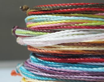 multi strand bracelets, friendship string bracelet, surfer beach bracelet, adjustable bracelet, stacking bracelet, gifts for girls