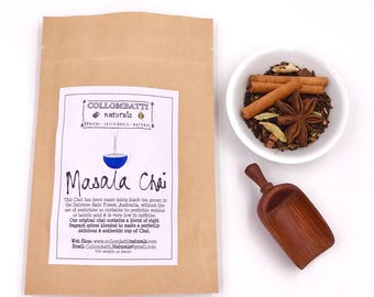 Tea-Original Masala Chai -Australian Grown Loose Leaf-Birthday-Wedding-Thank You-Eco Gift-Healthy Sugar Free-Food Gift-Housewarming Gift