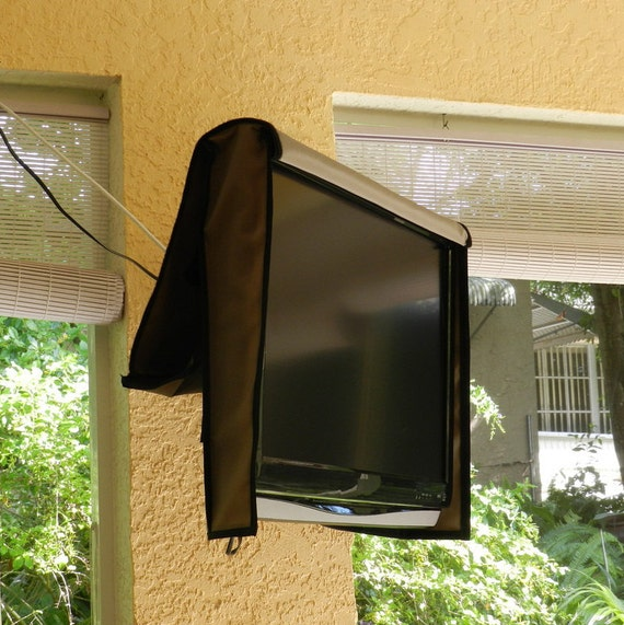 5362 Outdoor Waterproof TV Cover Naked Front Flap