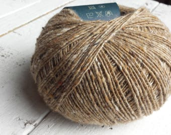 Debbie Bliss Fine Donegal light brown 54021 Merino Wool and Cashmere