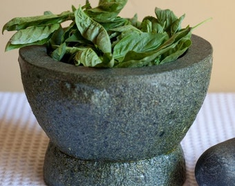Pistou Basil Seeds, Cooking Herb, Butter or Pasta Dishes, Garden Favorite, 25 Seeds
