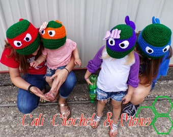Turtle Hat with Mask