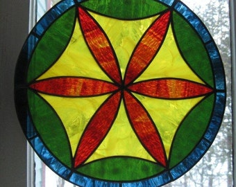 Stained Glass Hex Sign #1