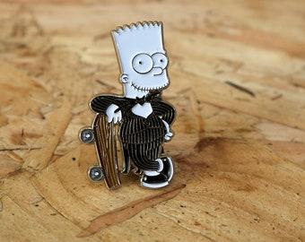 Bart Skeleton Pin