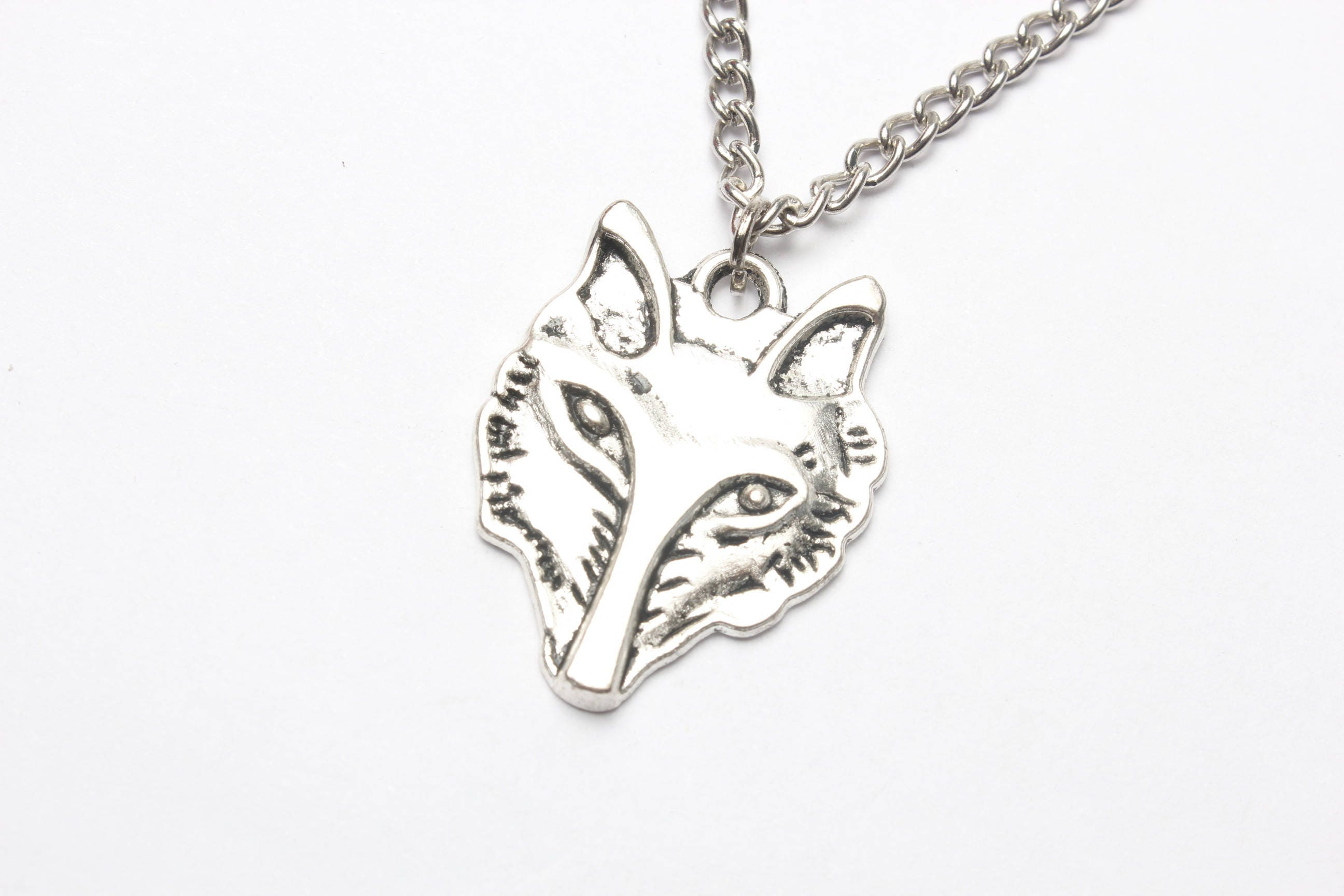jewellery design solid head category dragon fine silver mist pendant medallion wolf product