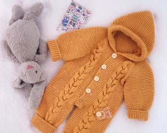 Children's jumpsuit Knitted