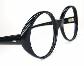 Vintage Round Glasses Eyeglasses or Sunglasses Frame Swank France