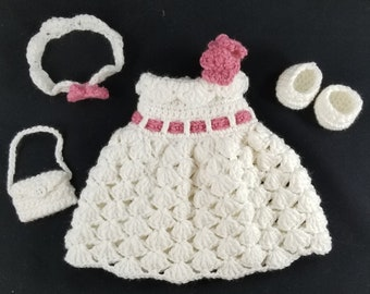 Pookie's Prom Queen Outfit Crochet Pattern