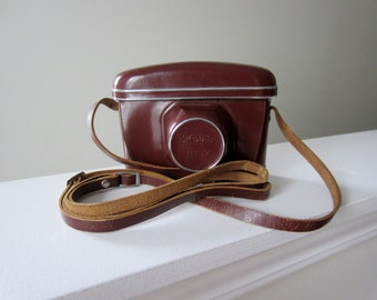Vintage Russia Kiev-4 Rangefinder Camera Case - Made in Soviet Union - 1950s - Great dispaly piece!