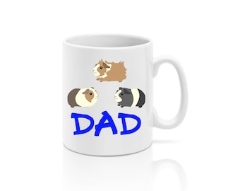 Personalised Guinea Pig Dad Dog Lover Mug *Rabbits* Dad *Gift* Fathers Day - Personalized *guineapig*
