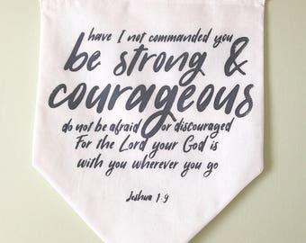 Joshua 1:9 banner