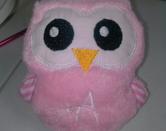 Little Owl Soft Toy  Personalized