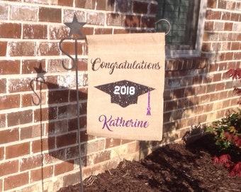 Garden Flag Graduation