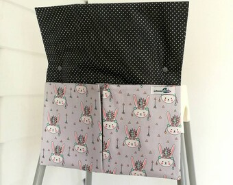 High chair caddy / high chair bag. Best suited for Ikea Antilop and Infa Ecco high chairs