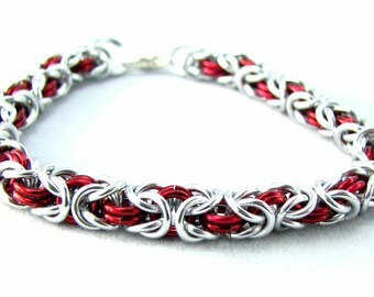 ON SALE Cara Chainmaille Bracelet - Choose your color
