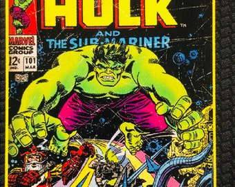 Marvel Comics The Incredible Hulk Panel 36in X 44in