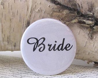 Bride Pocket Mirror Hand Pressed