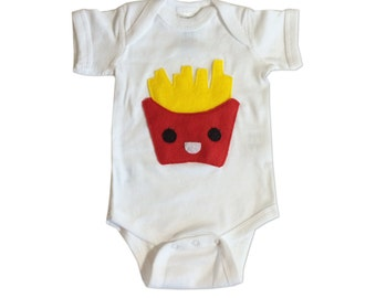 Hungry Kids - Yummy French Fries Infant Bodysuit