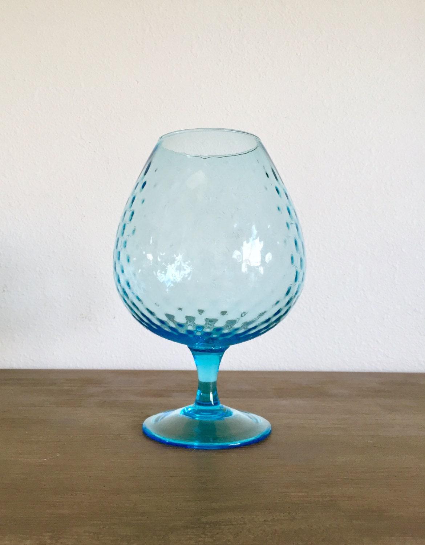 Blue empoli glass snifter style vase blue diamond optic zoom reviewsmspy