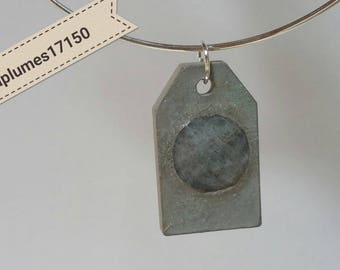New, handcrafted jewelry unique concrete