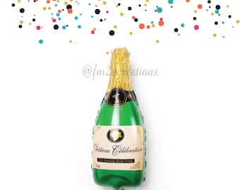 "Champagne Balloon | 39"" Champagne Balloon 