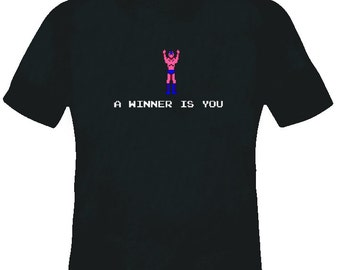 Pro Wrestling Nes A Winner Is You T Shirt