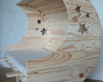 crib cosleeping Moon version