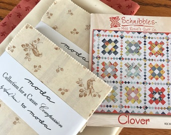 Clover - Quilt Kit with Compassion Fabric from Moda
