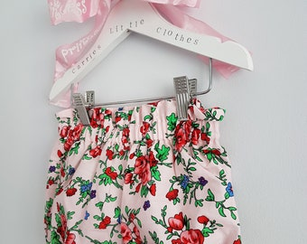 Age 0-2 Rose Pink bloomers