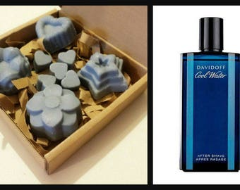 5 COOL WATER Perfume Type Soy Wax Melts.