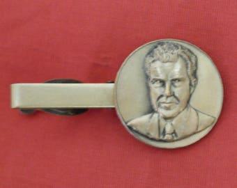 President Richard Nixon Souvenir Tie Bar