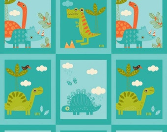 "SALE 5.99 Yard - Riley Blake Designs ""Dinosaur""  100% cotton - This Fabric is Sold By The Yard"