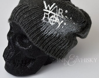 WAR BOY [Mad Max inspired] Hand-Knit Beanie