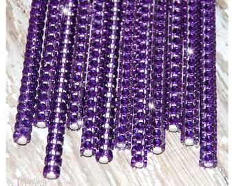 Purple Shimmer Sticks - NEW TREND ALERT - Glam for Lollipops, Cake Pops and All Things Party