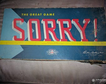 The Great Game Of Sorry 1954
