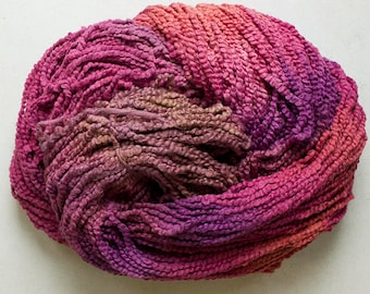 Puffin, Hand dyed cotton yarn, 8oz, 370 yds - Red Oak