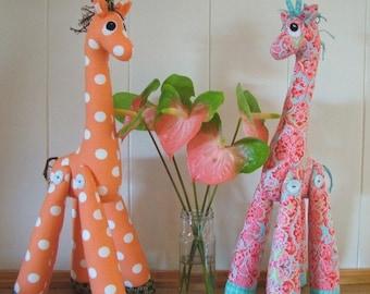 Mrs Perkins Giraffe Pattern