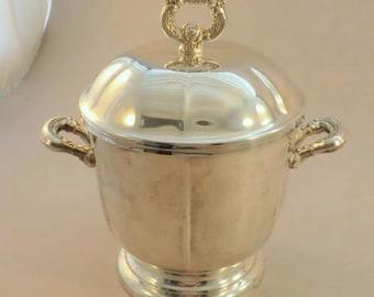 Oneida Silver Plated Ice Bucket