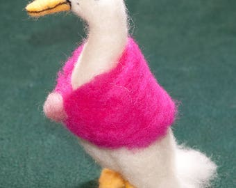 Jemima Puddleduck - Needle Felted, One Of A Kind, Hand Made