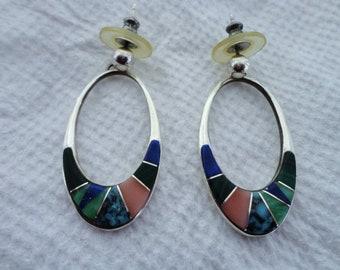 Calvin Begay Earrings
