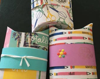 Handmade Pillow Boxes